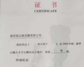 荣誉证书(六)