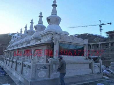 佛教石雕栏杆经典案例