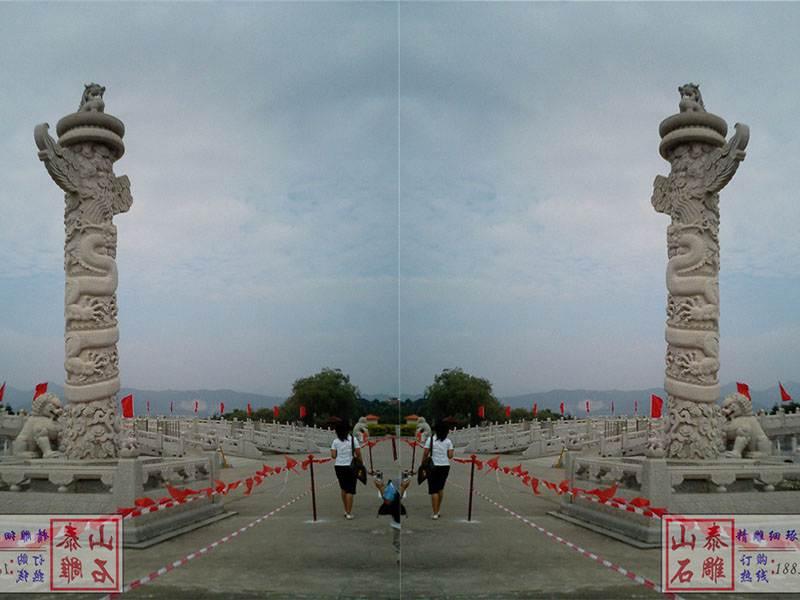 大型广场石雕华表[编号079]