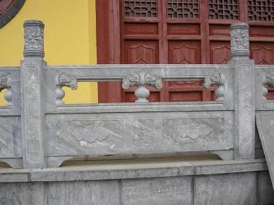 寺庙大殿青石栏杆/护栏(编号0