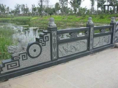 桥面花岗岩石栏杆(编号063)