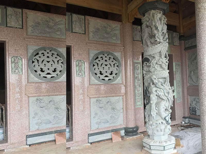 石雕龙柱价格